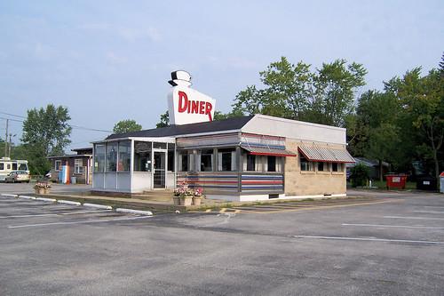 Roadside businesses on US 40