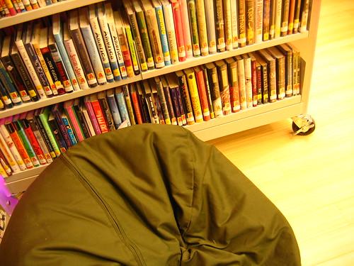 Cambridge Library YA room