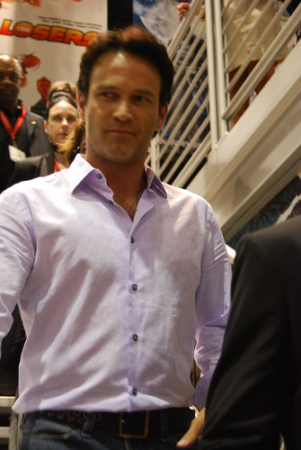 Stephen Moyer saying 'hi' to me