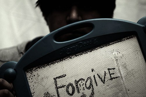 Forgiveness is divine.