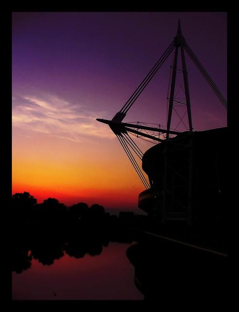 Millennium Stadium, River Taff, Cardiff