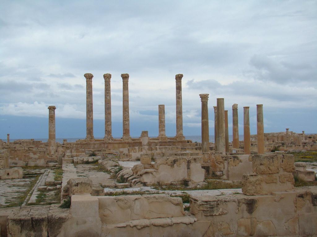 Templo de Liber Pater y Foro Sabratha Libia 12