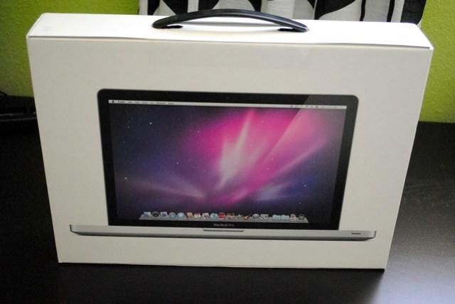 My New MacBook Pro