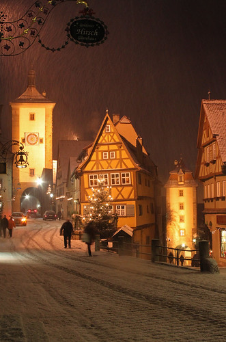 Rothenburg Snowfall