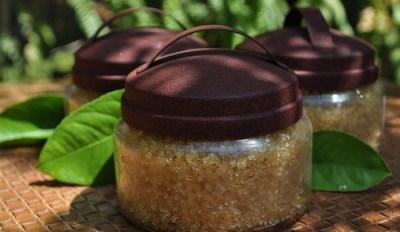 Organic Sugar Scrub, Honey Butter Tough Love Scrub by Beija-Flor Naturals
