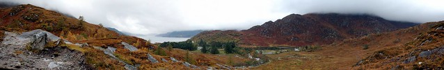 Shiel Bridge pano