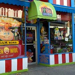 Candy store in downtown Halifax