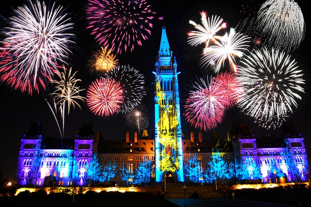 canada happy new year