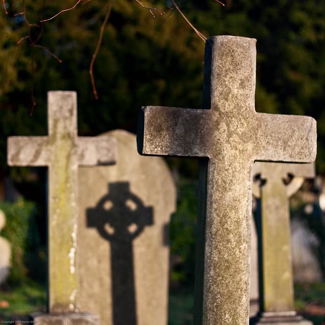 Brompton Cemetery Shadow