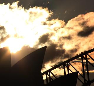 The Sydney Harbour Bridge climb [explored]