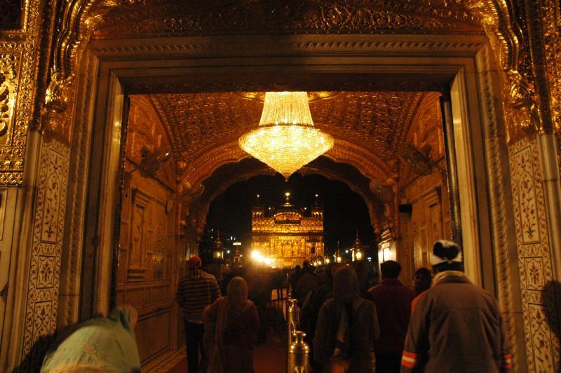 Dwar : The entrance door to the walk way into Harmandir Saheb