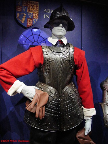 Armour for a Pikeman, English, Tower Armouries
