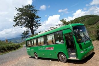 Busfahrt nach Da Lat