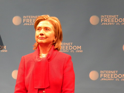 Sec. of State Hillary Clinton Discusses on Internet Freedom