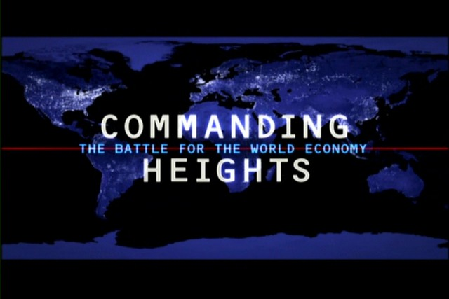 Image for Commanding Heights video series