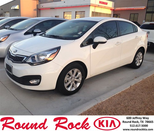 Congratulations to Solomon Thomei on your #Kia #Rio purchase from Jorge Benavides at Round Rock Kia! #NewCar by RoundRockKia