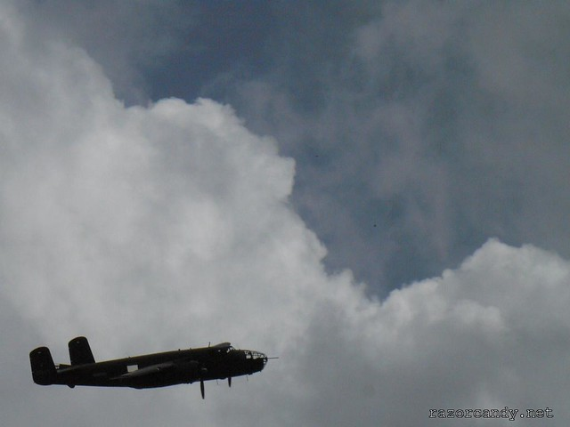 4 P1070453. B-25 mitchell _ Southend - 2008 (25th May)