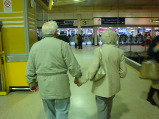 Holding hands at any age