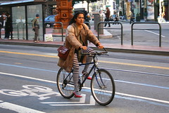 San Francisco cyclist