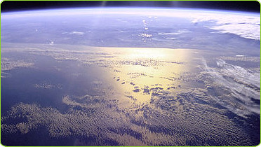 The Pacific Ocean Viewed From Outer Space by BlatantWorld.com