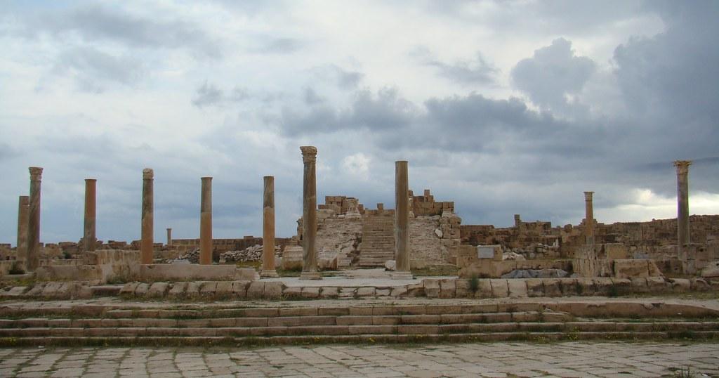 Templo Antonino Pio Sabratha Libia 14