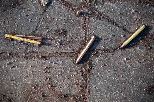 3 broken pencils @ Digbeth, Birmingham