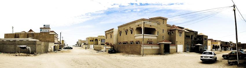 Quartier chic von Nouadhibou