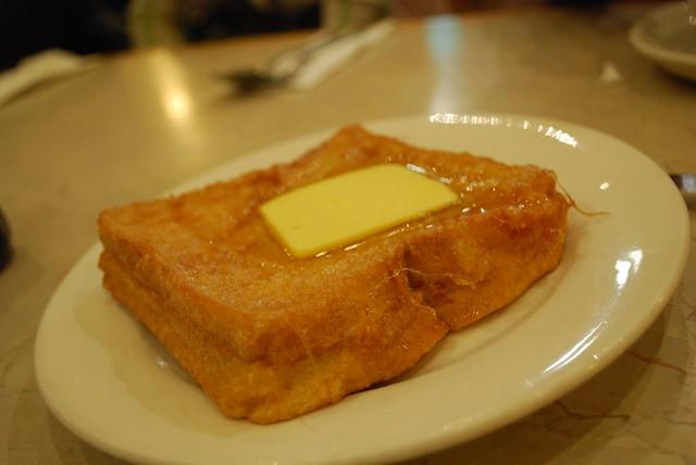西多士 Peanut Butter French Toast - New Age Cafe AUD4