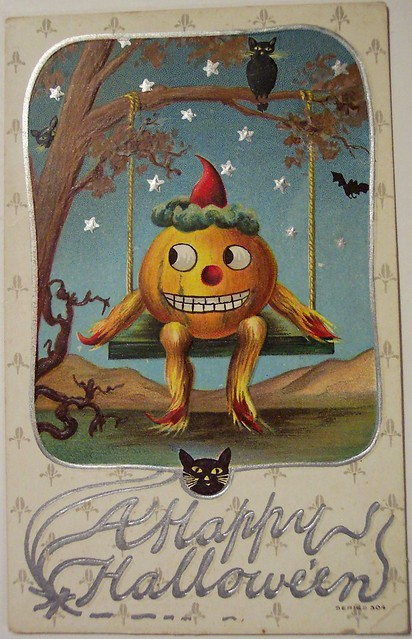 Vintage Halloween Postcard Flickr Photo Sharing
