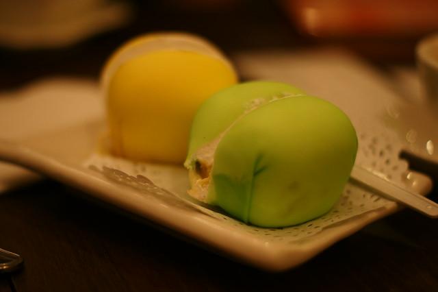 durian & mango pancake