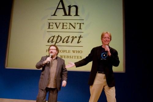Jeffrey Zeldman and Eric Meyer - An Event Apart: Seattle 2010
