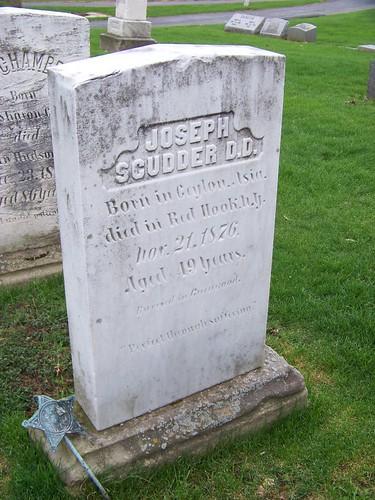 Joseph Scudder D.D.