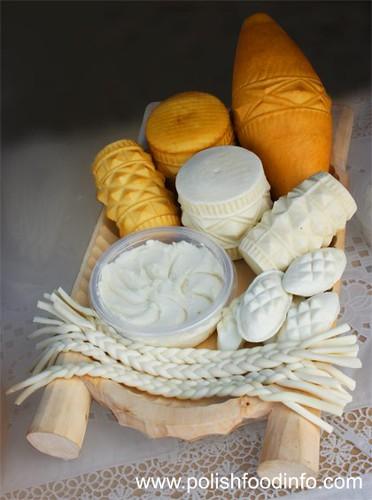 Polish_Food_-_Oscypek_Polish_Cheese