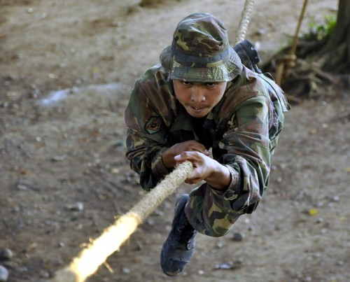 Training at  DTU, 10th Infantry Division, Philippine Army - 10th Infantry Agila Division Philippine Army
