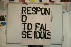 RESPOND TO FALSE IDOLS