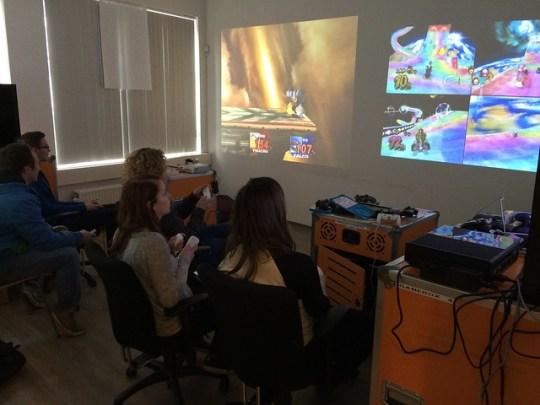 Game room at HvA