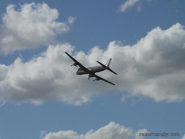 18 P1080605 British Eagle Douglas DC-6 {G-APSA} _ City Airport - 2008 (5th July)