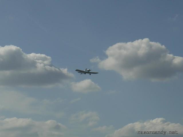 26 P1130865 Druine D.31 Turbulent {G-ARGZ} _ City Airport - 2009 (4th July)