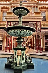 Fountain in Rundle Mall