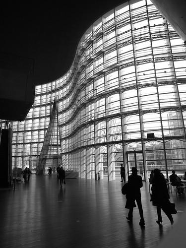Interior The National Art Center Roppongi Tokyo Japan
