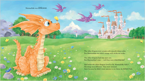 Rachel Valentine and Ed Eaves, Marmaduke the Very Different Dragon