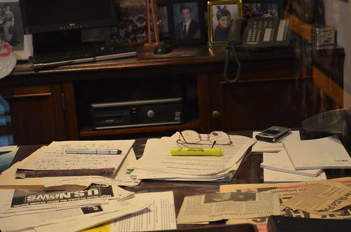 Tim Russert's office