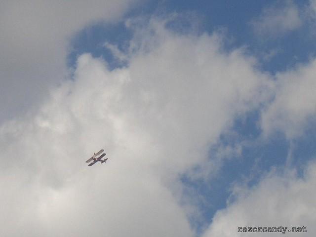1 CIMG4324 Team Guinot wingwalkers _ City Airport - 2007 (7th July)