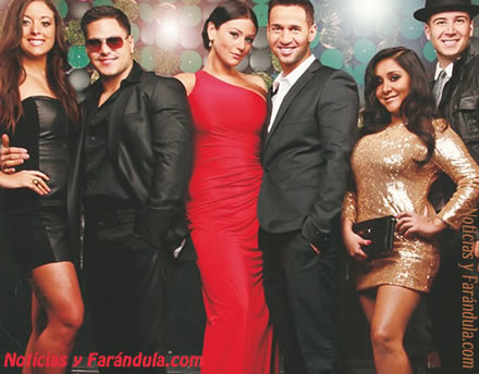 Jersey Shore cast by Notyfarandula1