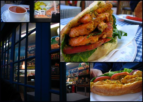 The Fish Store and Sandwich