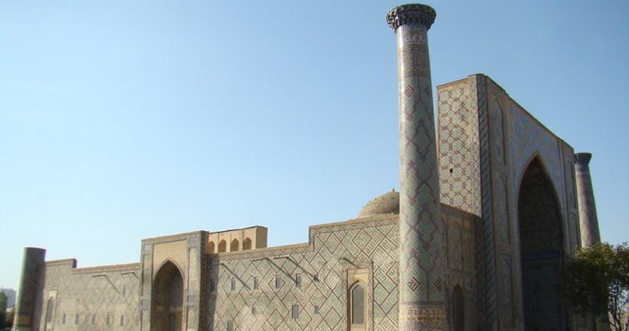 Samarcanda-Madraza Ulugh Beg-Uzbekistan 02