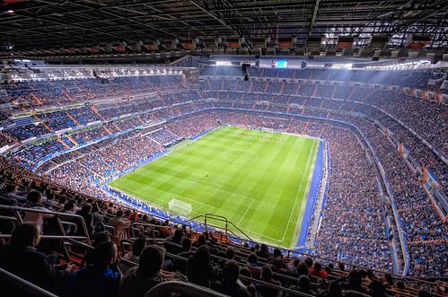 Real Madrid CF Stadium – Estadio Santiago Bernabéu, Madrid (Spain), HDR