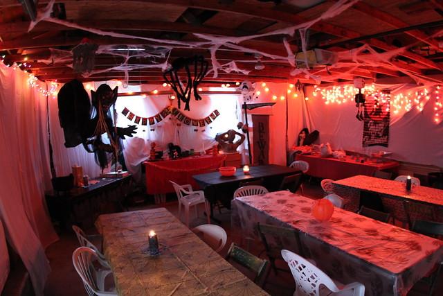 Garage halloween decoration | Flickr - Photo Sharing! on Garage Decoration  id=34631