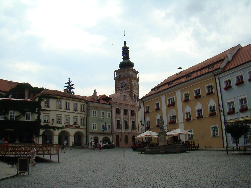 Mikulov-Plaza Mayor-Chequia 08