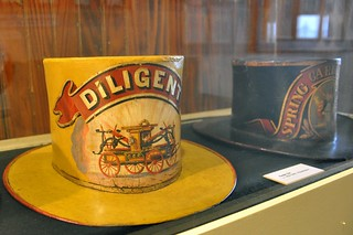 1820's Fireman Hat - Fireman Museum - Philadelphia